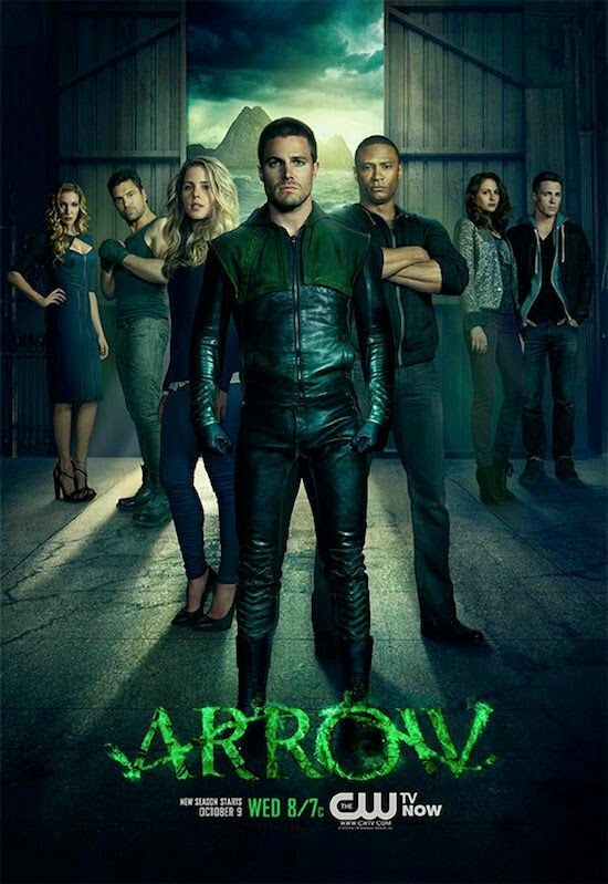 Arrow Superhéroes Tropa Friki