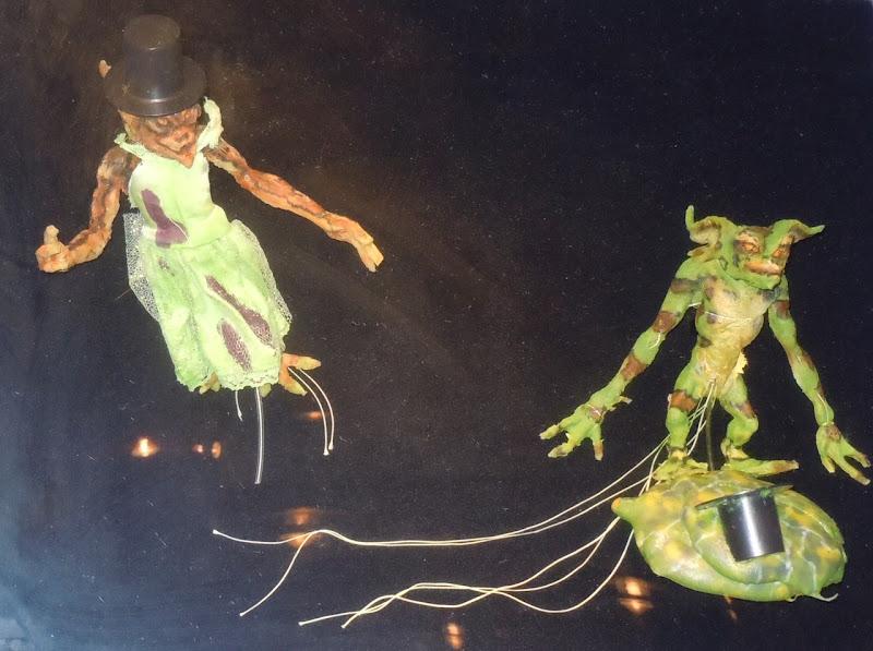 Gremlins 2 puppets