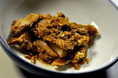 Bowl of Apple Crisp - Photo by Taste As You Go