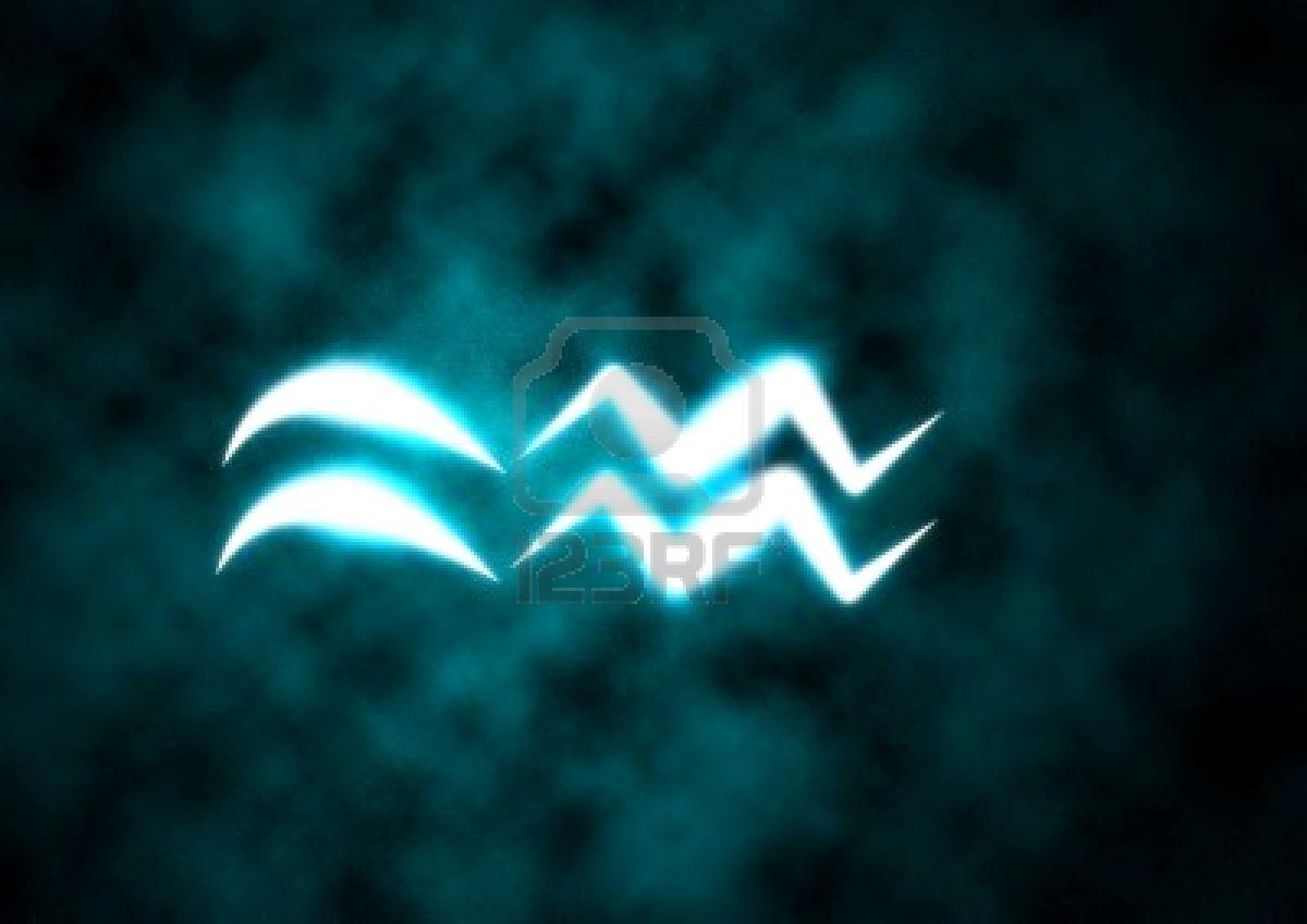 Pin zodiaco acuario simbolo on pinterest for Horoscopo para acuario