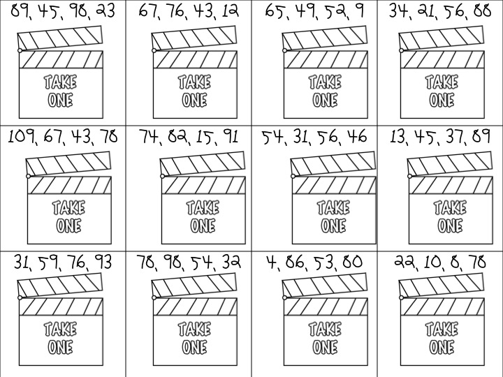 First Grade Fanatic Ready Set Order An ordering Numbers – Sequencing Worksheets First Grade