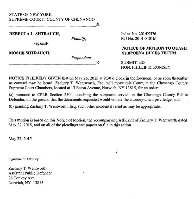 Cover Letter Subpoena Response Duces Tecum 9 11010