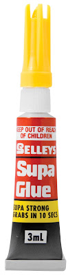 Supa Glue tube 3 ml