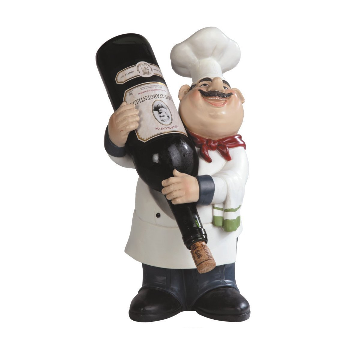 Chef Guy Kitchen Decoration Total Fab Fat Chef Statues A Bit Of Bistro Themed Kitchen Decor