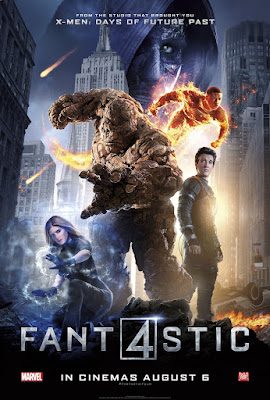 Fantastic Four International Theatrical One Sheet Movie Poster