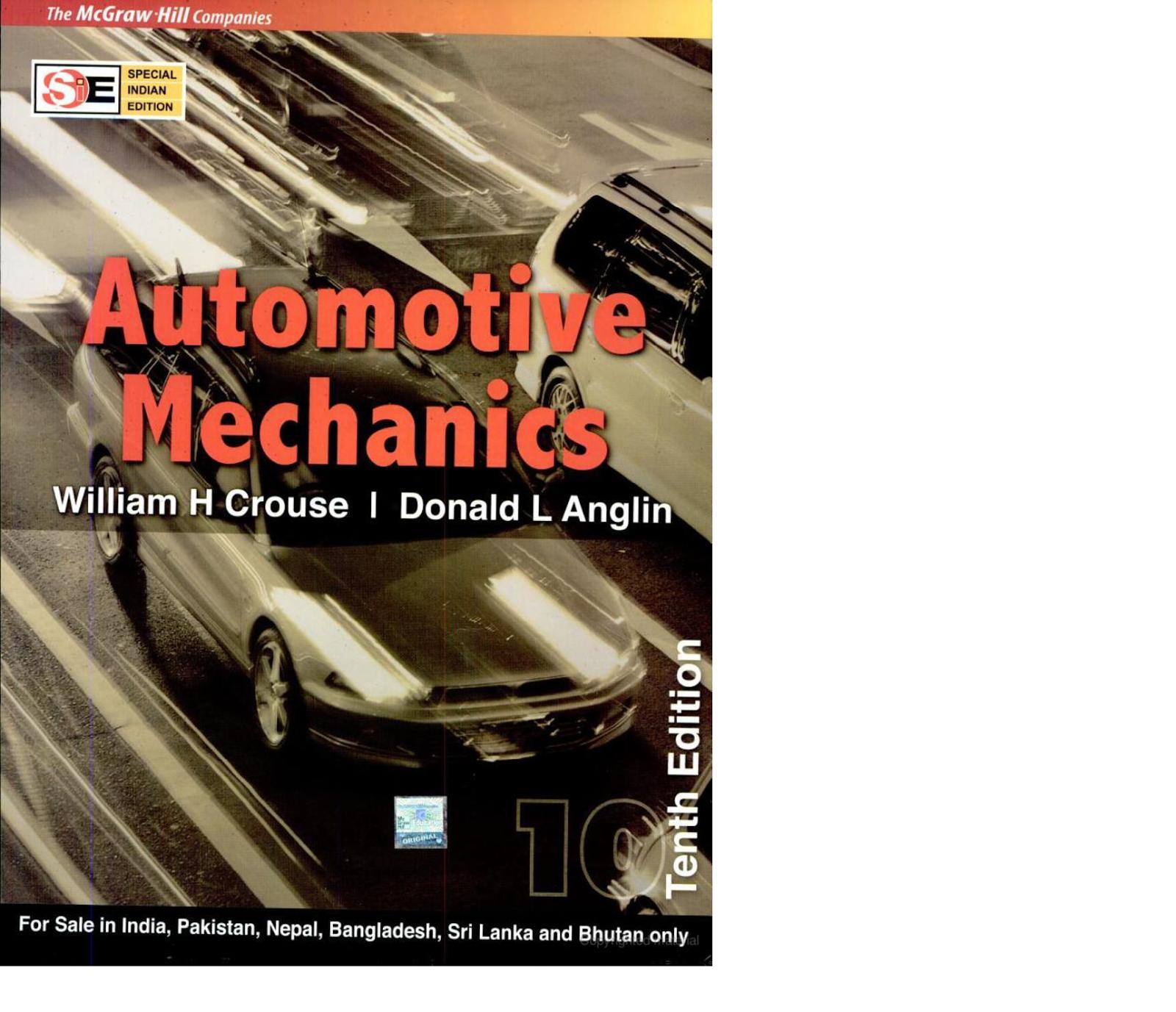 books on auto mechanics