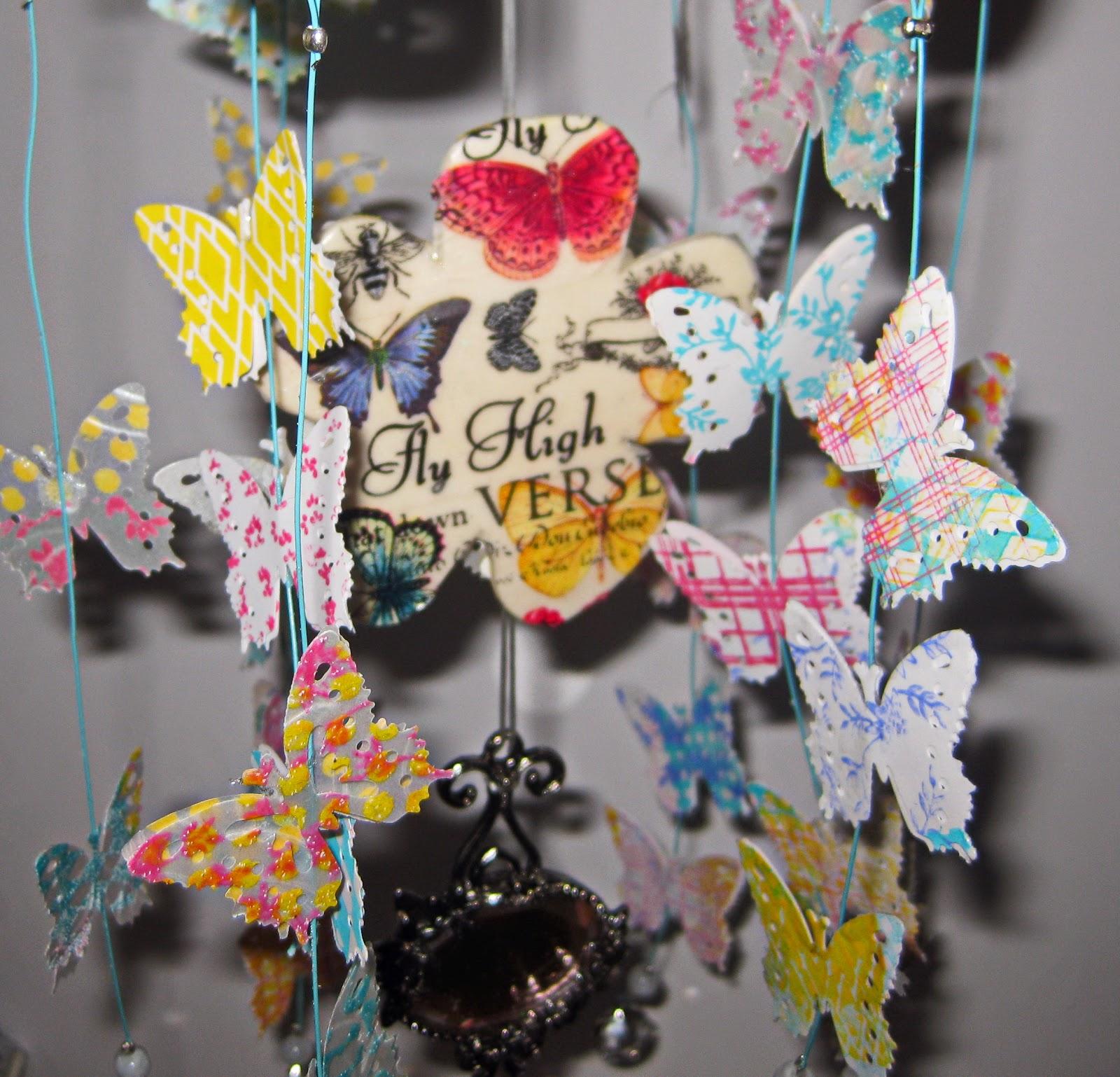 Roberta Birnbaum butterfly mobile