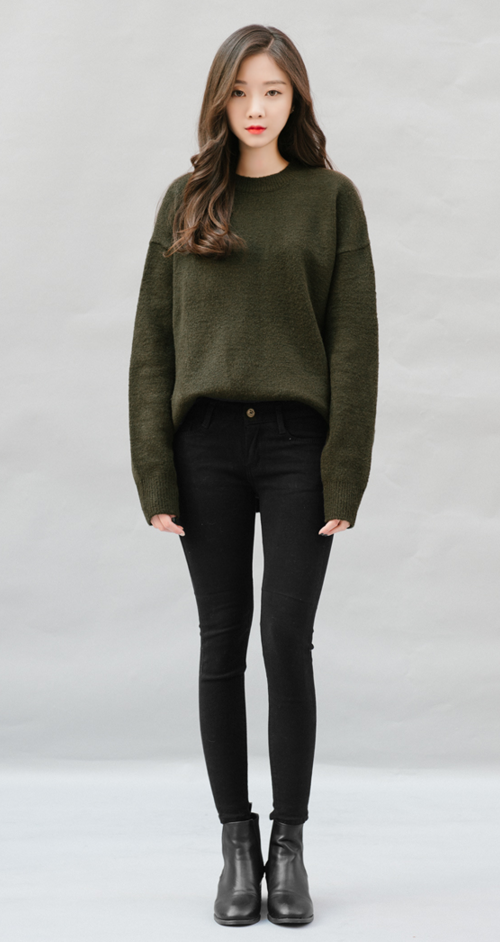 Casual Colored Skinny Pants