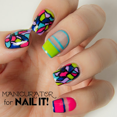 Kiss_Products_Nail_It!_Magazine_Freehand_Mosaic_Nail_Art