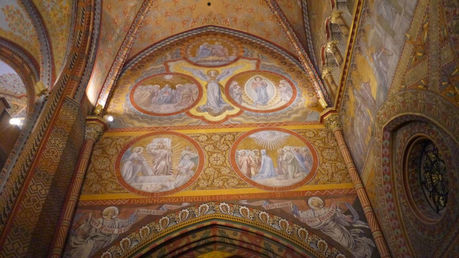 Inside Matthius Church Budapest