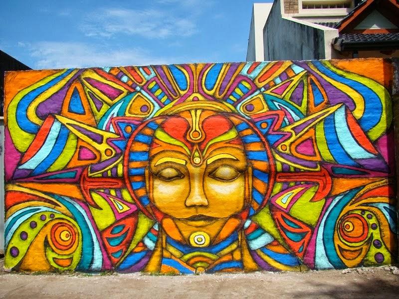 Hermosos murales callejeros xbab xdan for Graffitis y murales callejeros