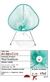 mobilier scoubidou fauteuil acapulco. Black Bedroom Furniture Sets. Home Design Ideas