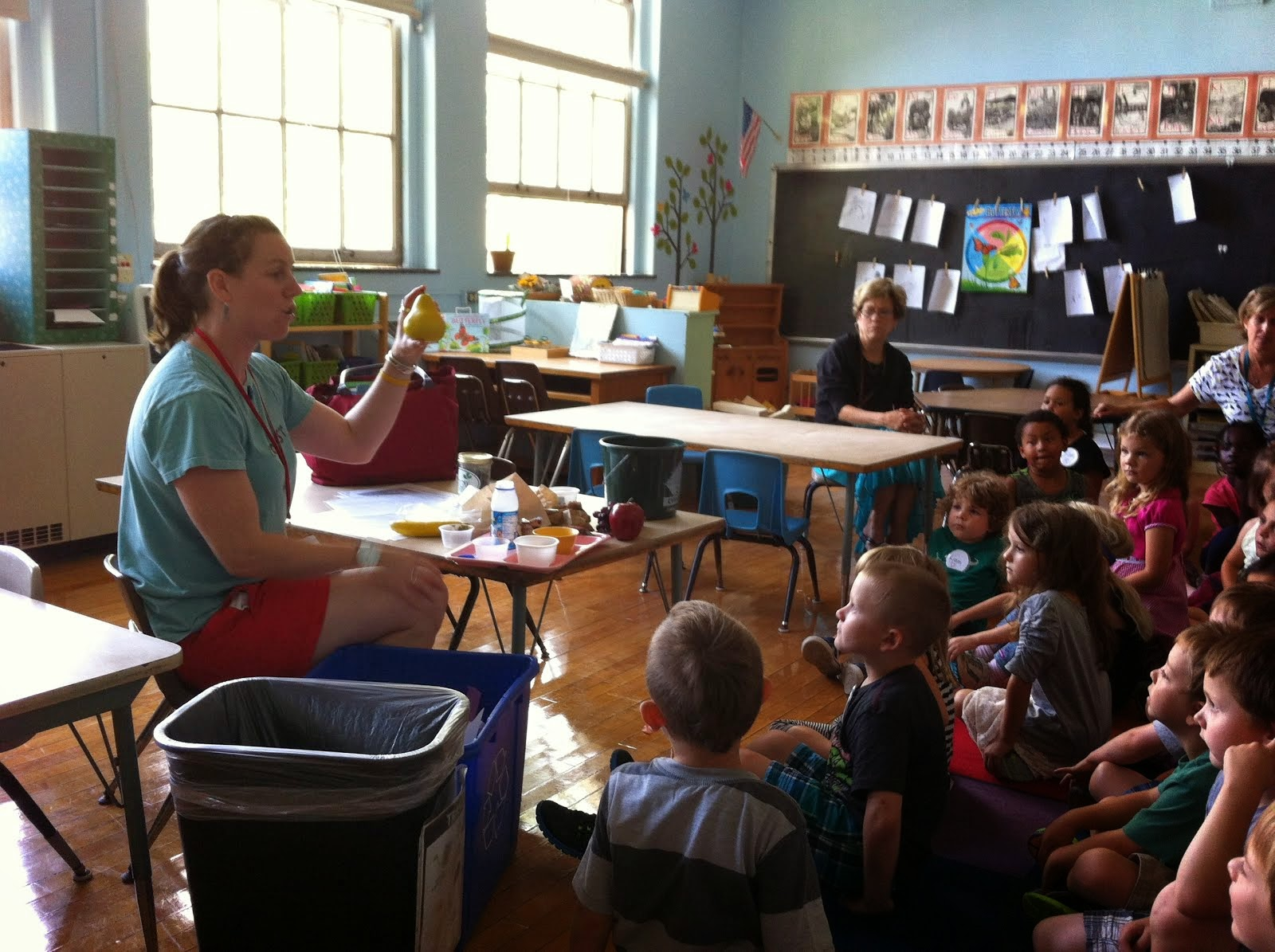Learning to Compost and Recycle at UES