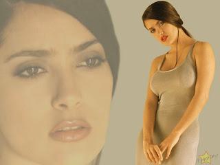 Salma Hayek HD Wallpaper