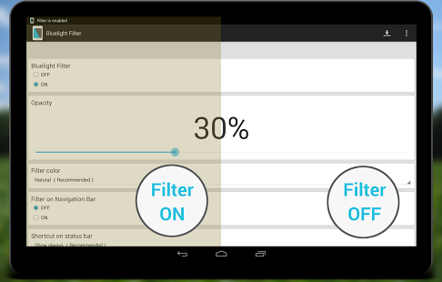 Download Bluelight Filter Premium Version Free for Today