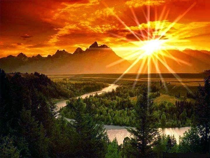 Full HD Sunshine Nature Desktop Wallpaper Images