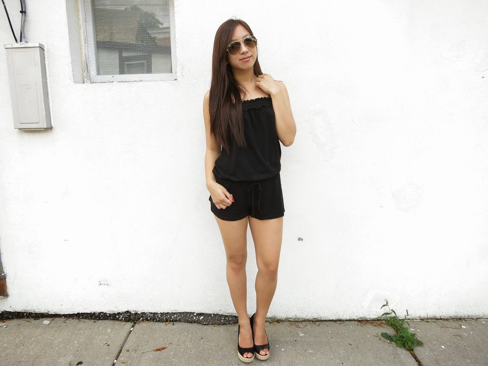 Outfit: Relaxed Romper