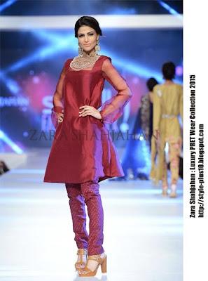 maroon-organza-shirt-with-stones-zara-shahajahan-luxury-pret-2015