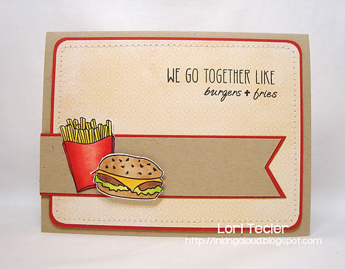 We Go Together-designed by Lori Tecler-Inking Aloud-stamps from Clear and Simple Stamps