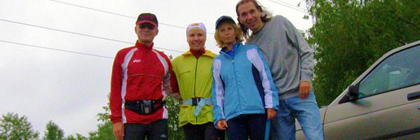 20 километров в Царицыно хмурым дождливым весенним утром