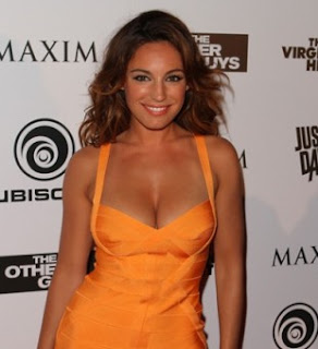 Kelly Brook Tan Skin