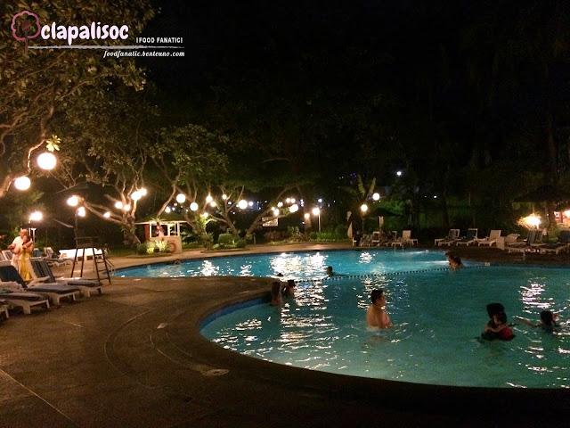 Intercontinental Hotel Manila Pool Side and Pool Area