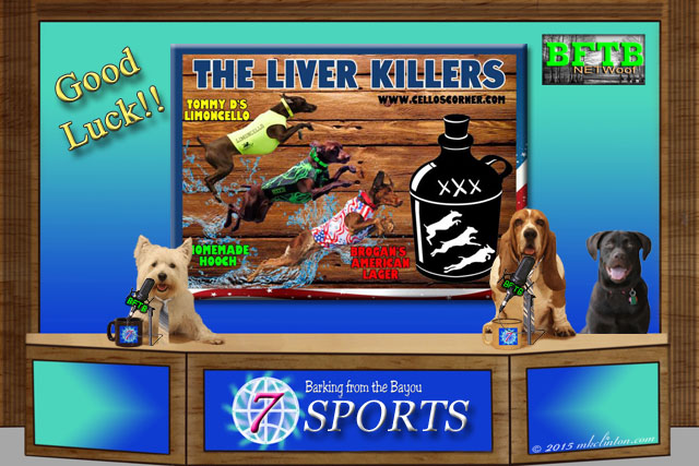 BFTB NETWoof sports with the Liver Killers team