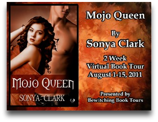 Mojo Queen Virtual Book Tour: Guest Post & Giveaway with Sonya Clark