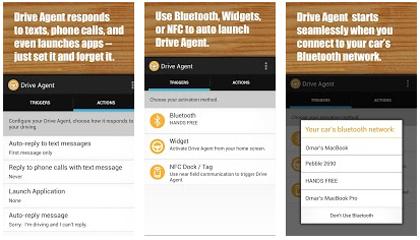 programa tus mensajes con Drive Agent - www.dominioblogger