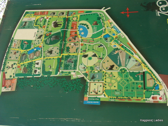 mysore zoo map