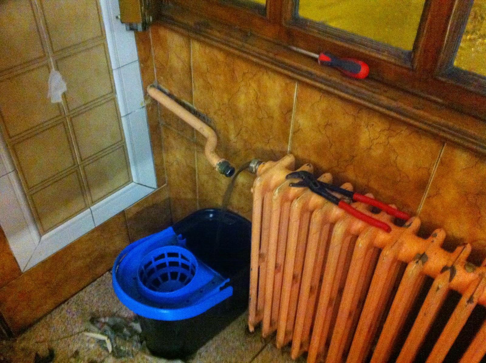 Vaciado de radiador