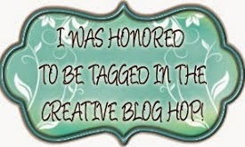 The Creative Blog Hop - 1st September 2014