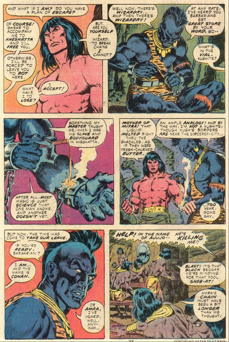 Conan the Barbarian (1970) Issue #84 #96 - English 14