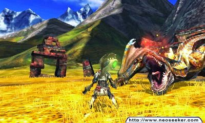 3DS Monster Hunter 4 Screenshot
