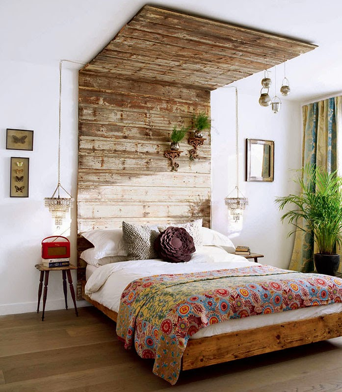30 inspirations d co pour la chambre blog d co mydecolab for Lampe a accrocher au lit