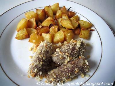 involtini di carne vitello manzo aglio pangrattato cosa blogga in pentola ricetta cosabloggainpentola