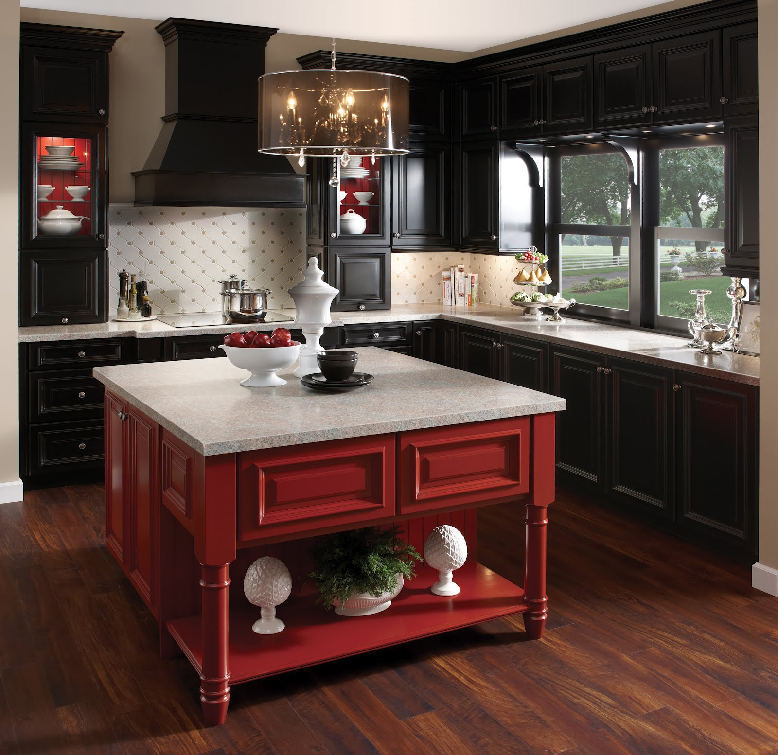 2012 trends post cabinetry guest post by sarah reep of for Black onyx kitchen cabinets
