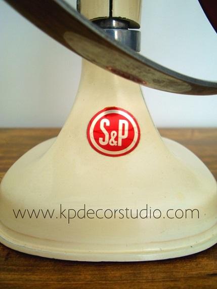 Comprar ventiladores de mesa antiguos originales marca SP