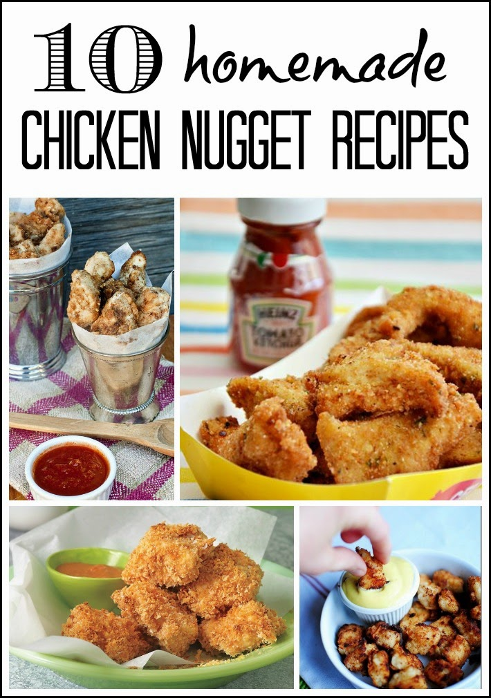 10 Homemade Chicken Nugget Recipes + Cash Giveaway