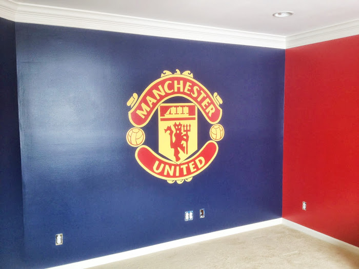 Matthew's Manchester United room