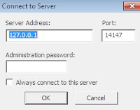 first time run filezilla ftp server