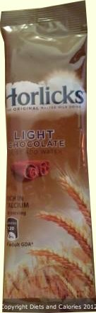 Horlicks Chocolate Calories