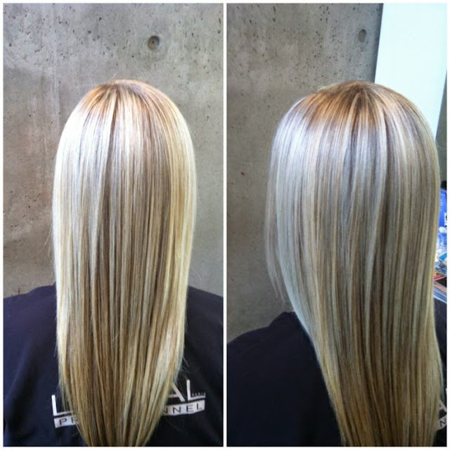 Platinum Blonde Hair With Highlights Long Hair Lovers