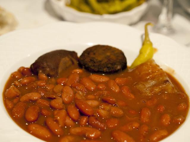 Alubias del Restaurante Aurrekoetxe de Mungia