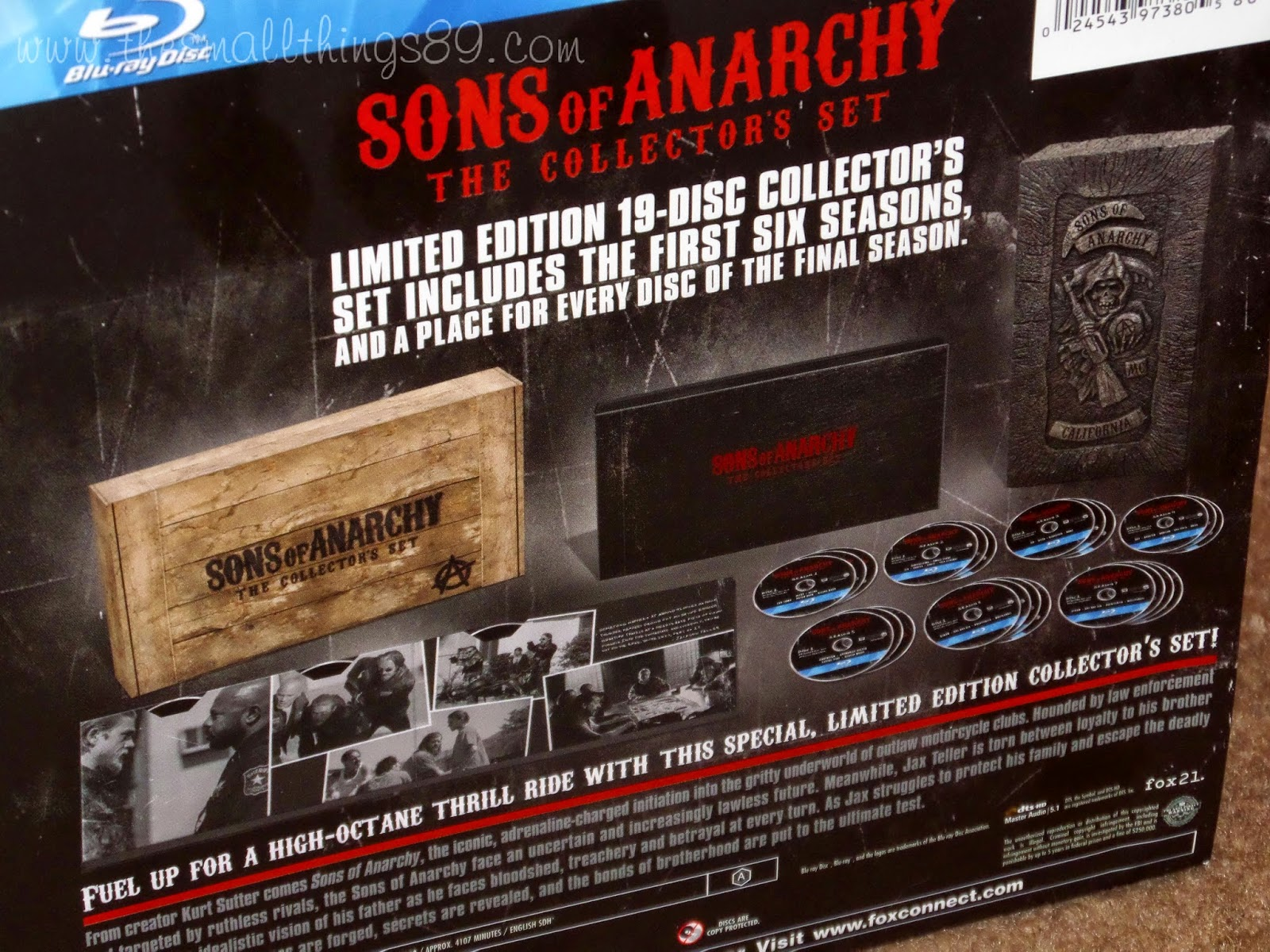 Sons Anarchy The Collectors Set on Blu Ray GiftGuide2014