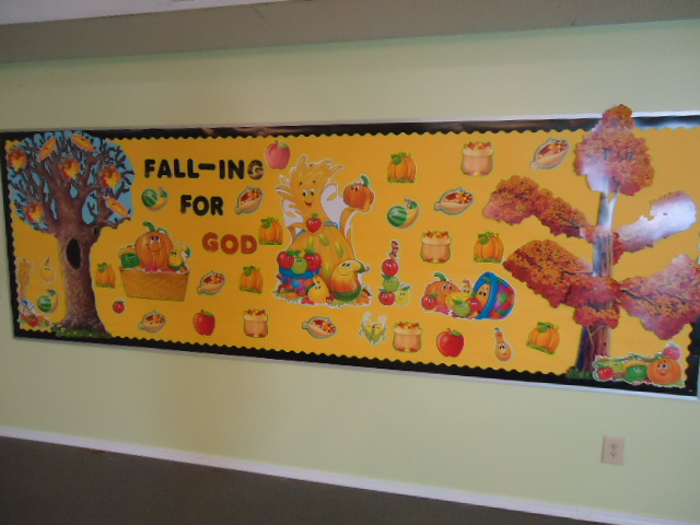 Church House Collection Blog Fall Bulletin Board For
