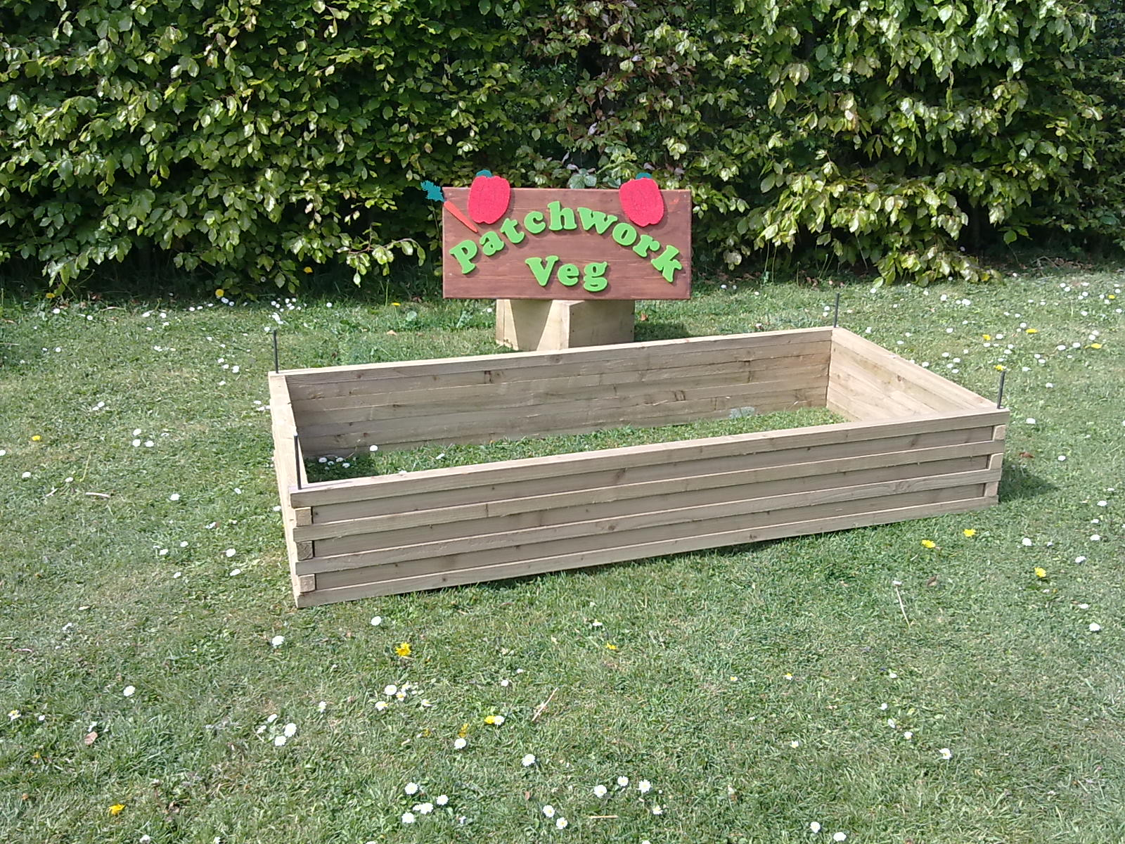 Garden bed finally a proper strong sturdy diy raised bed kit that