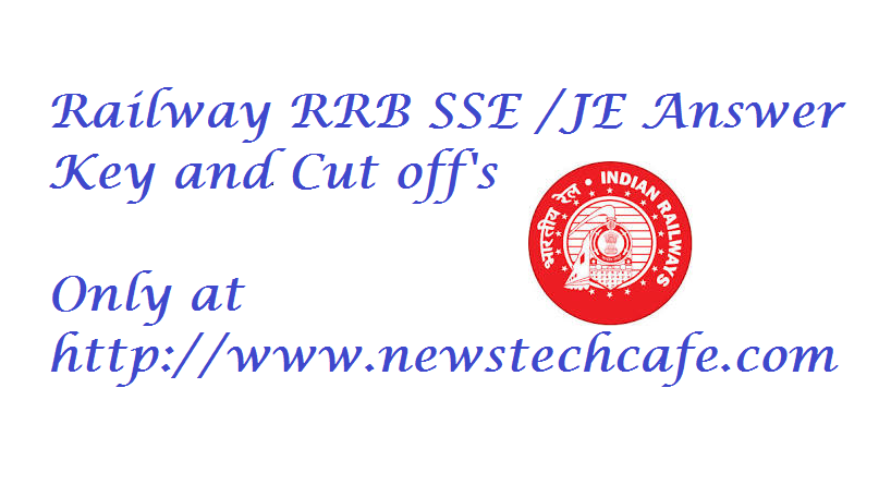 Expected cut-off  RRB JE  &  ANSWER KEY 14DEC 2014