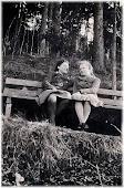 Gertrude & Madele Lechner in Landjahr