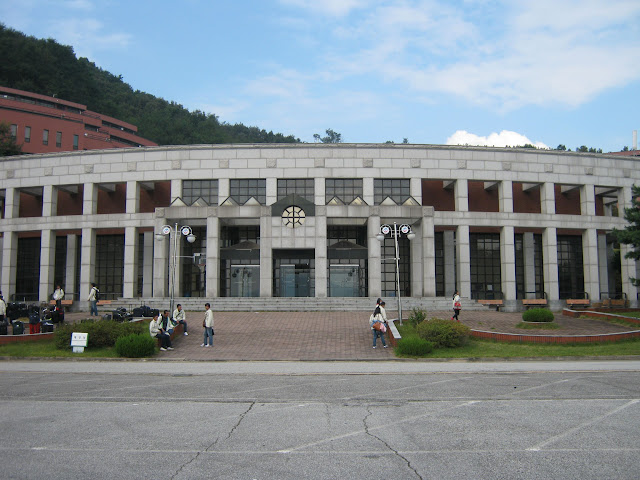สถานที่อบรมก่อนเริ่มทำงานที่ประเทศเกาหลี